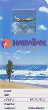 Hawaiian Airlines Ticket Jacket unused =