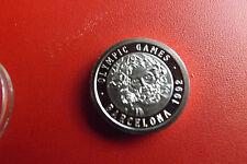 * Medalla de plata * aprox. 5g. (999) aprox. 20mm pp * Olympia barcelona 1992 (box 21)
