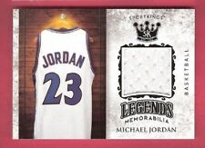 MICHAEL JORDAN GAME USED JERSEY CARD 2018 SPORTKINGS LEGENDS BULLS WIZARDS
