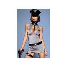 Lingerie Femme - Déguisement Sexy - Tenue sexy police 5 pièces - Taille L-XL