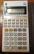 Canon Scientific Statistical Calculator F-73P con custodia funzionante anni 80