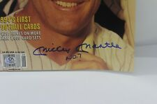 Mickey Mantle Signed Auto Autograph Sept 1994 Tuff Stuff with COA - inscribed