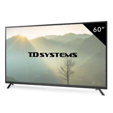 Televisores Led Full HD 60 Pulgadas TD Systems K60DLT7F. 3x HDMI / 2x USB / VGA