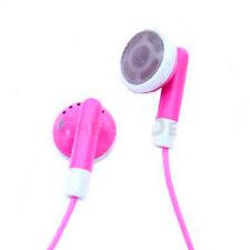 NEW PINK EARPHONES FOR IPOD NANO VIDEO MINI SHUFFLE UK
