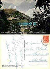Cartolina di Ligonchio, centrale elettrica - Reggio Emilia, 1955
