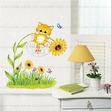 Naughty Cat Home Room Decor Removable Wall Sticker Decal Decoration Vinyl Mural