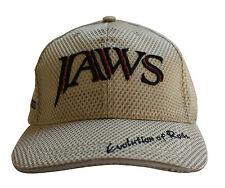 Jaws 3D Embroidery premium type fishing hat / cap Khaki