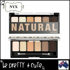 NYX The NATURAL Eye Shadow Palette TNS01 Matte Shimmer Dark Light Brown Nude AUS