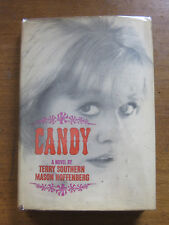 CANDY by Terry Southern Hoffenberg  - 1st/5th HCDJ 1946 VG+  erotic