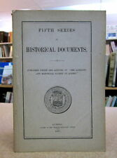 FIFTH SERIES OF HISTORICAL DOCUMENTS. WAR OF 1812.