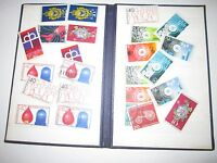 GERMAN USED STAMPS AND EMPTY STAMP BLOCK BOOKLET - TUB QQ