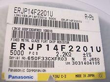 2K2, 2,2K, 2,2KOhm. 1210, 1%, 0,5W,100ppm,200V,Panasonic ERJP14F2201U, 100 Stück