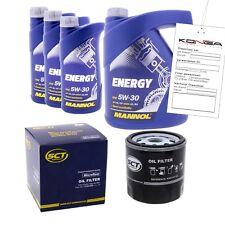 Inspektionskit MANNOL Energy 5W-30 für Hyundai H-1 Kasten 2.5 Crdi Cargo Travel