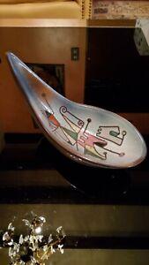 Coupe en céramique de Vallauris René Maurel,Tourrettes sur loup des années 60