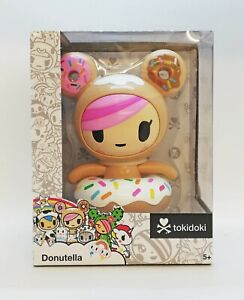 TokiDoki Donutella Collectible 6 inch Figure Designed By Simone Legno Very RARE