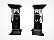 2xStandsäule Blumensäule Marmorsäule Blumenständer Versa Serie Säule Höhe: 80cm
