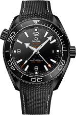 New Omega Seamaster Planet Ocean Deep Black Mens Watch 215.92.46.22.01.001