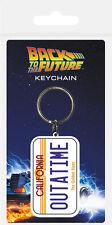 Retour vers le futur porte clés Outatime porte cles Back to the future keychain