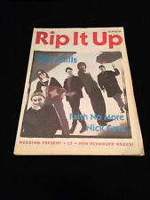 RIP IT UP MAGAZINE NEW ZEALAND THE CHILLS FAITH NO MORE NICK CAVE L7 1992