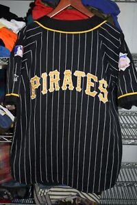 Pittsburgh Pirates vtg Starter Jersey Men's Medium 90s