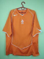 0c5763f57 Netherlands Holland jersey shirt 2004 2006 Home official nike soccer  football L