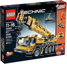 Lego ® Technic 42009 mobile difficile lastkran Nouveau neuf dans sa boîte/Mobile Crane NEW En parfait état, dans sa boîte scellée Boîte d'origine jamais ouverte