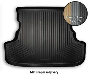 Husky WeatherBeater Trunk Area Floor Mat All Weather Liner - 3 Colors