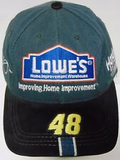LOWE'S RACING #48 JIMMIE JOHNSON NASCAR Hendrick Motorsports ADVERTISING HAT CAP