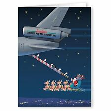 Aerial Refueling Christmas Card - Military 18 Cards & Envelopes- 80025