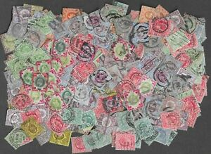 Over 400 mostly good used EdVII stamps.