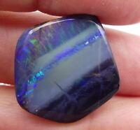Australian Boulder Opal, Solid Natural, Polished Gem, loose opal, Lapidary 10165