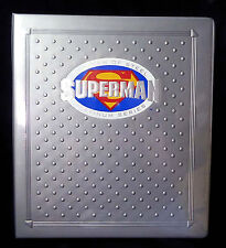 Superman Man of Steel Platinum Series Binder Shrinkwrapped Sealed New from 1994