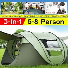 Quick-open Tent Outdoor Camping Field Tent Camping Rainproof Boat   NEW