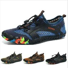Outdoor Shoes Men Hiking Sport Trail Sneaker Mid Top Athletic Breathable Comfort