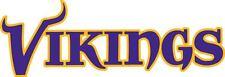 MINNESOTA VIKINGS Logo ~ Window WALL DECAL * Vinyl Car STICKER ~ ANY COLORS