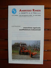 0012) Rinieri-Macchine agricole-IT-prospetto brochure 90er-anni