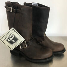 Frye Women's Engineer 12R 77400 Gaucho Motorcycle Boots Size 6.5M NWT Buckle