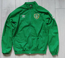 "Ireland ""L"" Umbro Jacket Track Shirt Jersey Football Top"