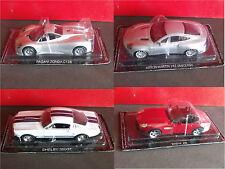 BMW Z8 PAGANI ZONDA C12S ASTON  MARTIN V12 SHELBY 350 GT- DIE CAST 1:43 -  NEW!!