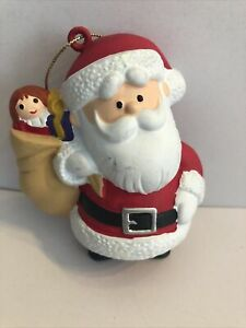 Rudolph the Red Nosed Reindeer Santa Claus  Ornament Animated Movie Classic Rare