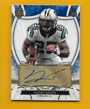 CAROLINA PANTHERS 1/1 INSERT LOT AUTO JERSEY - ALL ARE SERIAL #1 SUPER BOWL GIFT