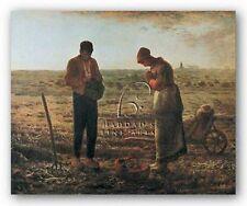 Museum Art Print The Angelus 1859 Jean Francois Millet
