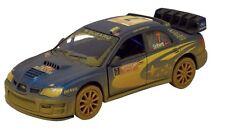 Muddy 2007 Subaru Impreza WRC Diecast 1:36 scale model Rallye Monte Carlo