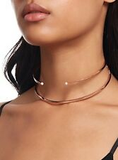 Bnwt Mimco Rose Gold Doubletrouble Choker