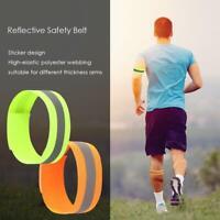 Reflective Luminous Cycling Arm Band Running Outdoors Night Safety Belt Leg Band
