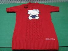 MAGLIONCINO  bambina anni 7/8   altezza Cm.128   colore Rosso -  Hello Kitty