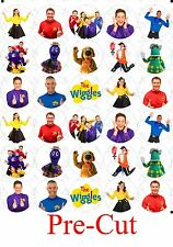 30 x The Wiggles New Generation Edible Cupcake Toppers PRE CUT