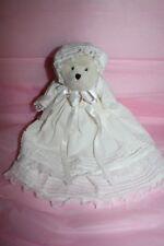 "Boyd Bear Plush: Blessed B.Babybear - 8"" Ivory Bear - Christening - Retired- Nwt"