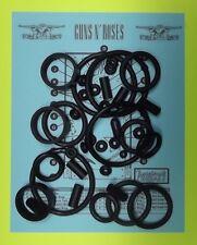 1994 Data East Guns N' Roses pinball rubber ring kit GNR