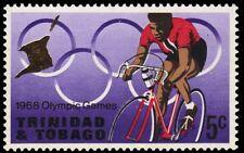 "TRINIDAD & TOBAGO 139 (SG334) - Mexico Olympics ""Cycling"" (pa84085)"